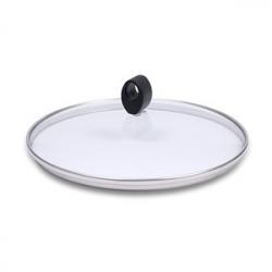 Крышка, dia 24 см, стекло/пластик