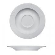 Блюдце «Карат», фарфор, D=125,H=15мм, белый