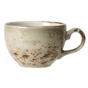 Чашка кофейная «Крафт», фарфор, 85мл, D=65,H=53,L=85мм, зелен.
