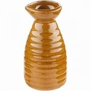 Бутылка для саке «Киото-браун» керамика; 200мл; коричнев.