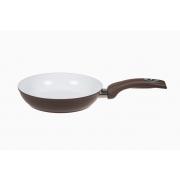 Сковорода 20 см «Коричневая керамика» V - 1,6 л.