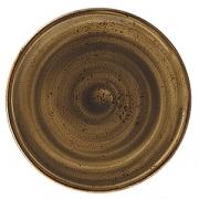 Тарелка мелк. «Крафт» 25.25см фарфор