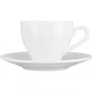 Пара кофейная «Кунстверк» фарфор; 150мл; белый