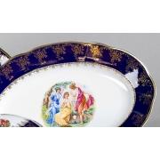 Блюдо овальное 36 см «Мэри Энн 0179»