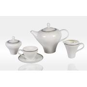Сервиз чайный «Модерн» 17 предметов на 6 персон