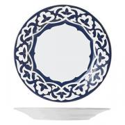 Тарелка мелкая «Восток», фарфор, D=24см, синий