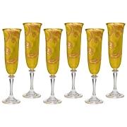 Набор: 6 бокалов для шампанского Daniela