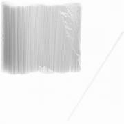 Трубочки без изгиба [1000шт] D=0.3, L=21см; белый