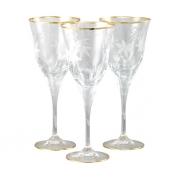 Бокал для вина 6 шт Эдельвейс - золото