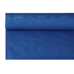 Скатерть в рул. синяя 1.2*8м
