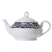 Чайник «Восток Голд», фарфор, 500мл, синий,золотой