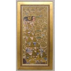 Картина «Ожидание» 16х38 см.Серия Klimt. Подарочная упаковка