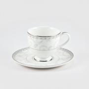 Набор 6 кофейных пар 110мл «Жизель»