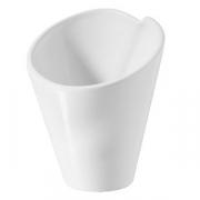 Салатник для компл., фарфор, 50мл, D=60,H=65мм, белый
