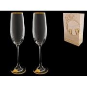 Бокал для шампанского Золотая отводка