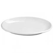 Блюдо овальное банкетное «Магнум», фарфор, H=5,L=47,B=27см, белый