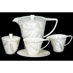 Сервиз чайный 17 пр. на 6 персон «Вивиана»