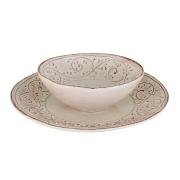 Набор тарелок: суповая + обеденная Медичи