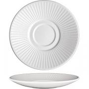 Блюдце «Уиллоу» D=15.3см; белый