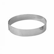 Кольцо кондитерское, сталь нерж., D=120,H=45мм, металлич.