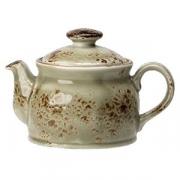 Чайник «Крафт»; фарфор; 425мл; зелен.