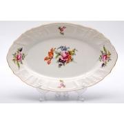 Блюдо овальное 34 см «Полевой цветок 5309011»
