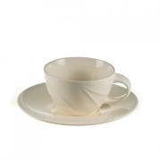 Чашка чайная с блюдцем «Спирит»