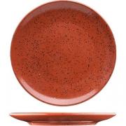 Тарелка пирожковая «Лайфстиль» D=16см; киноварь