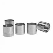 Кольцо кондитерское, сталь, D=5,H=5см, металлич.