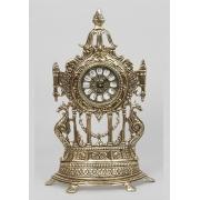 Часы половинки с драконами золотистый 40х24 см.