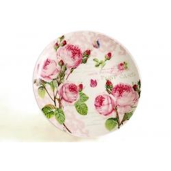 Десертная тарелка «Розы» 19 см