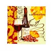 Блюдо квадр. стеклянное 31см. «Вино»