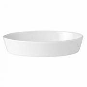 Блюдо для запекания «Симплисити Вайт», фарфор, L=21.5,B=14см, белый