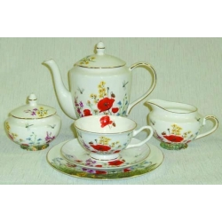 Чайный сервиз из 21 предмета на 6 персон «Полевые цветы»