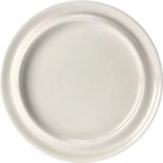 Тарелка мелкая «Фридом» D=25.8см; белый