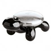 Металлическое мыло «Аманда» (AMANDA) Koziol 6,2 x 10 x 4,7см (черный)