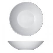 Тарелка глубокая «Опшенс», фарфор, D=24см, белый