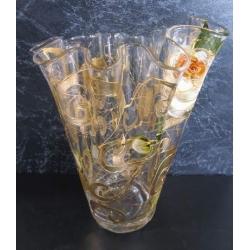 F/820/169 ваза «Бледные розы» 30см
