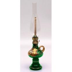 Лампа керосиновая «Лепка зеленая»