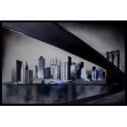 Бруклинский мост, 60х40 см, 1969 кристаллов