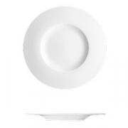 Тарелка для хлеба «С-Класс»; фарфор; D=17см; белый