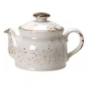 Чайник «Крафт», фарфор, 550мл, D=75,H=114,L=170мм, белый
