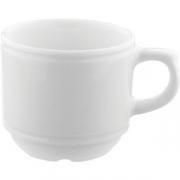 Чашка кофейная «Нептун» D=6.6, H=5.5, B=8.7см; белый