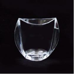 Ваза «Orbit» 18 см; гладкая; кристалайт