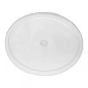 Крышка для контейнера, полиэтилен, D=37.8см, белый