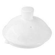 Крышка для чайника «Кунстверк», фарфор, 950мл, D=8см, белый