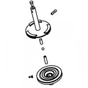 Сцепление в сборе к 7010424; сталь; D=68,H=85мм; металлич.