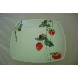 Суповая тарелка «Клубника» 20 см
