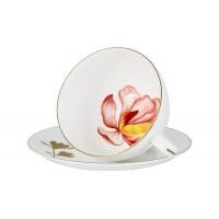 Чашка с блюдцем Magnolia в подарочной упаковке