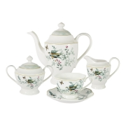 Чайный сервиз из 15 предметов на 6 персон Есения в подарочной упаковке